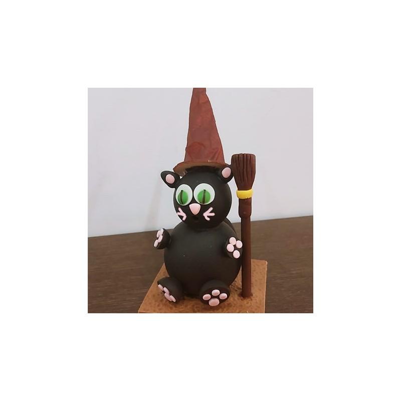 Chocolat Chat noir 165g
