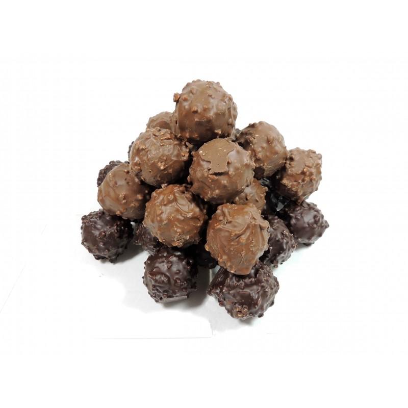 Chocolat Sachet de 2 rochers praliné