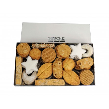 Macarons et biscuits Petite boite de biscuits