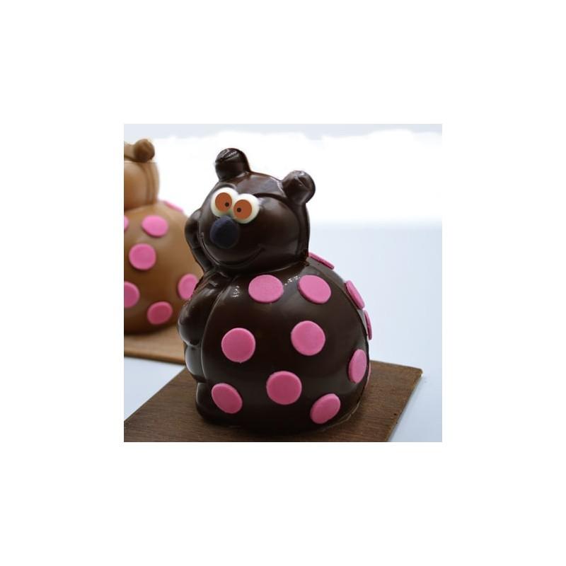 Accueil Coccinelle chocolat noir