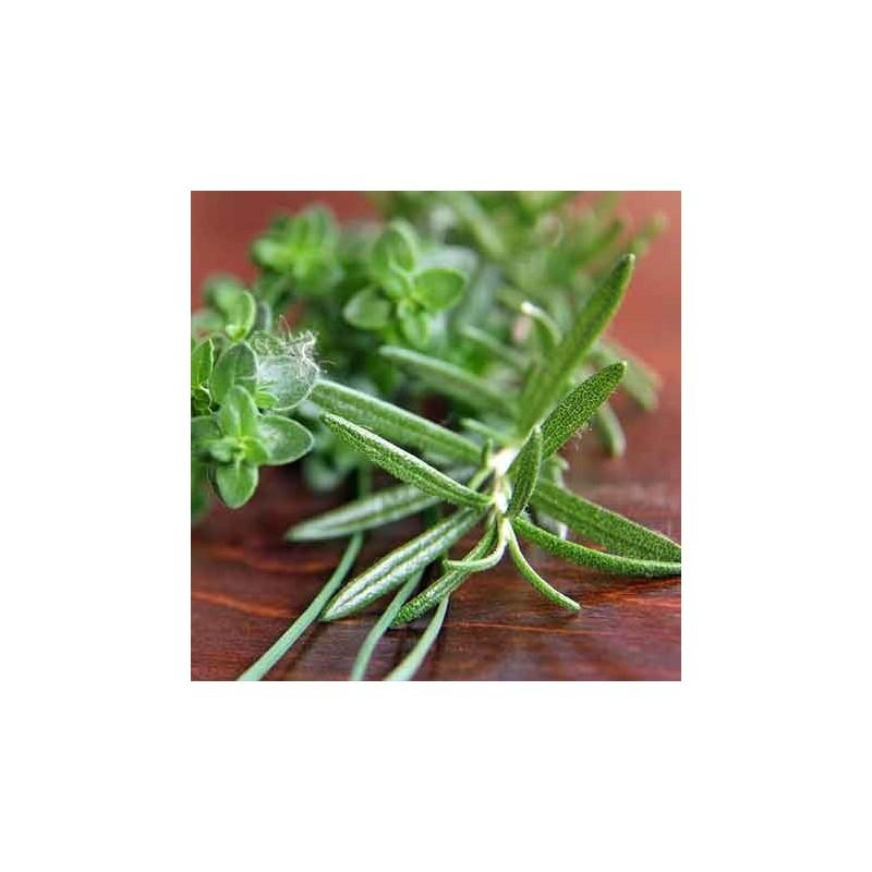 Glaces artisanales Glace thym - Croquant aux amandes