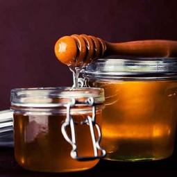 Glaces artisanales Glace miel - pignons