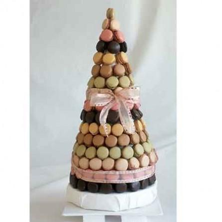 Gâteaux de prestige Pièce montée de macarons