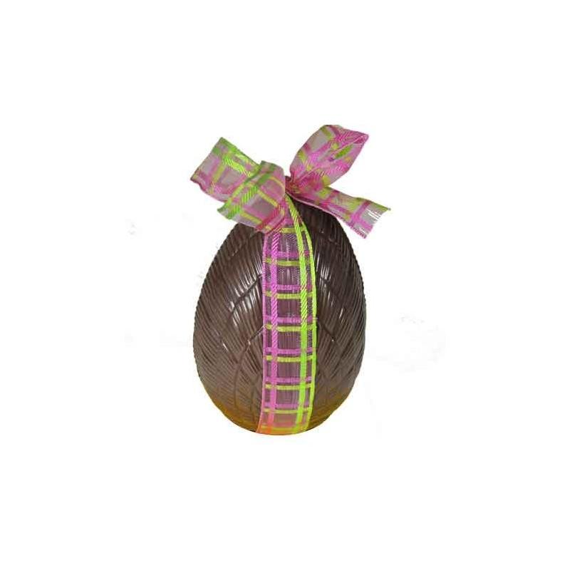 Moulages en chocolat de Pâques Oeuf garni (4 tailles)