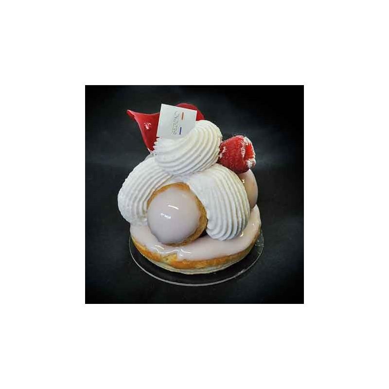 Entremets  Gâteau Saveur framboise-rose