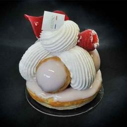 Gâteaux Gâteau Saveur framboise-rose