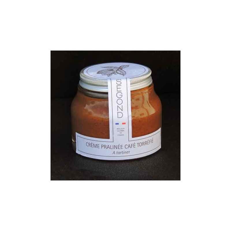 Chocolat Crème pralinée café torréfié