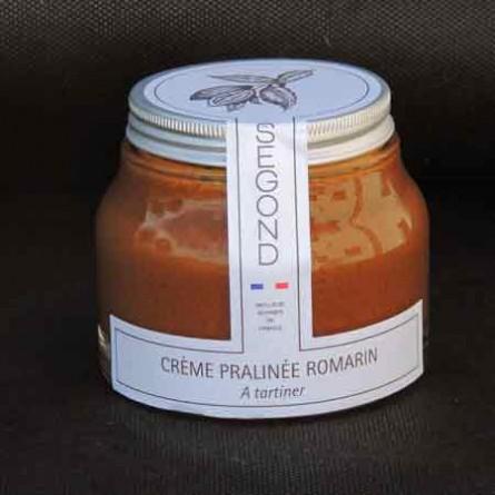Chocolat Crème pralinée romarin