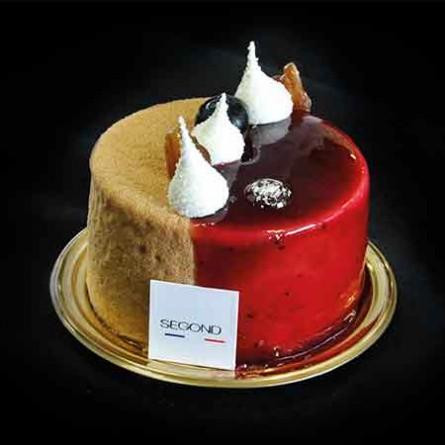 Entremets Gâteau Satinée