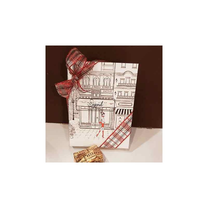 Confiserie & chocolat à offrir Coffret livre garni de marrons