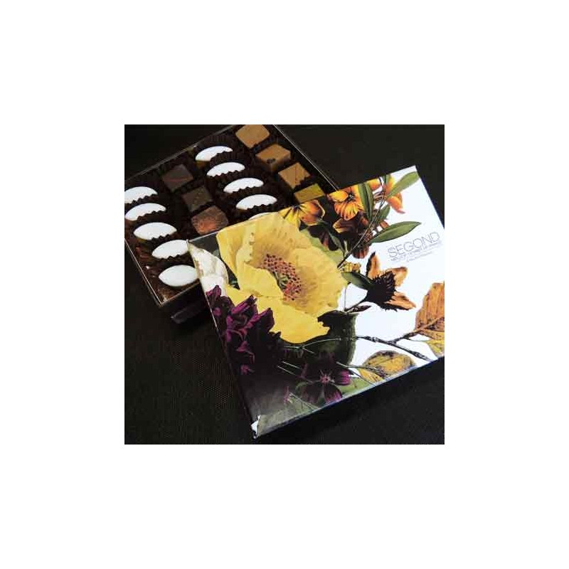 Chocolat Coffret Fleuri 120g