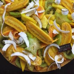 Gâteaux Tarte fruits exotiques
