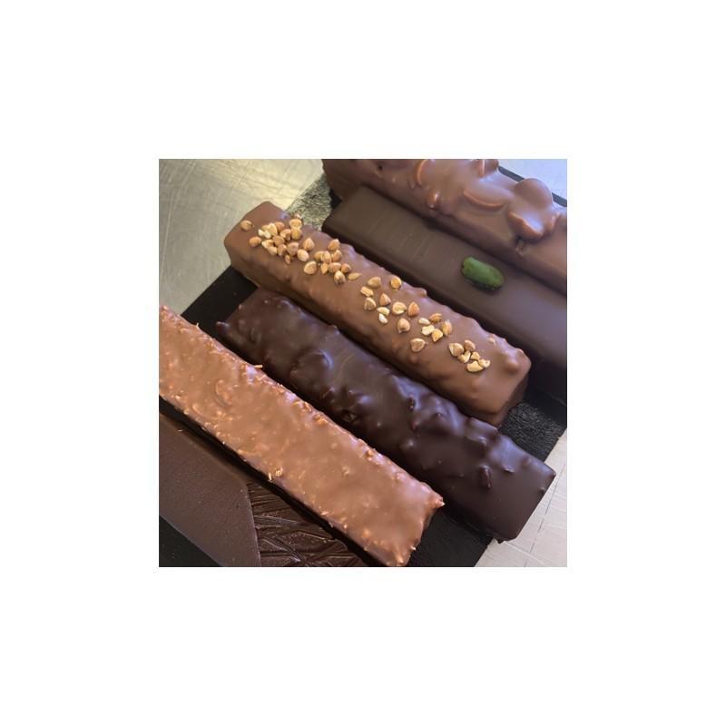 Chocolat Coffret 6 barres pralinées