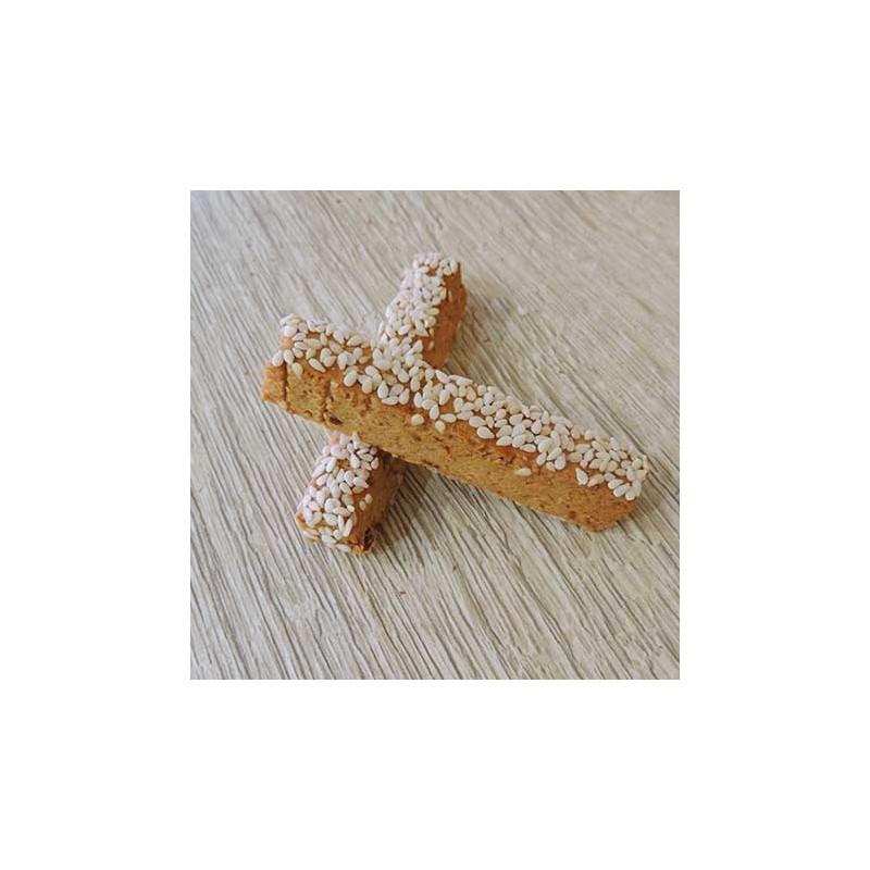 Macarons et biscuits Longuet figue-sésame