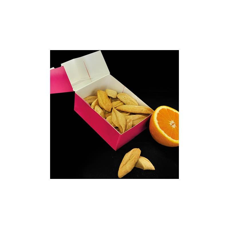 Macarons et biscuits Boite de navettes 250g