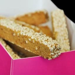 Macarons et biscuits Longuet figue-sésame 250g