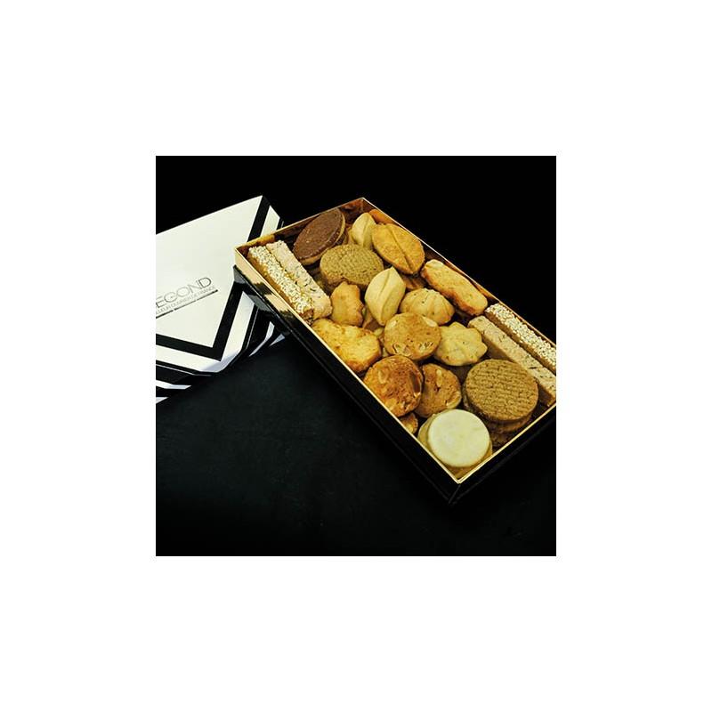 Macarons et biscuits Boite de biscuits 600g