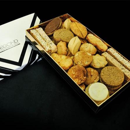 Macarons et biscuits Boite de biscuits 400g
