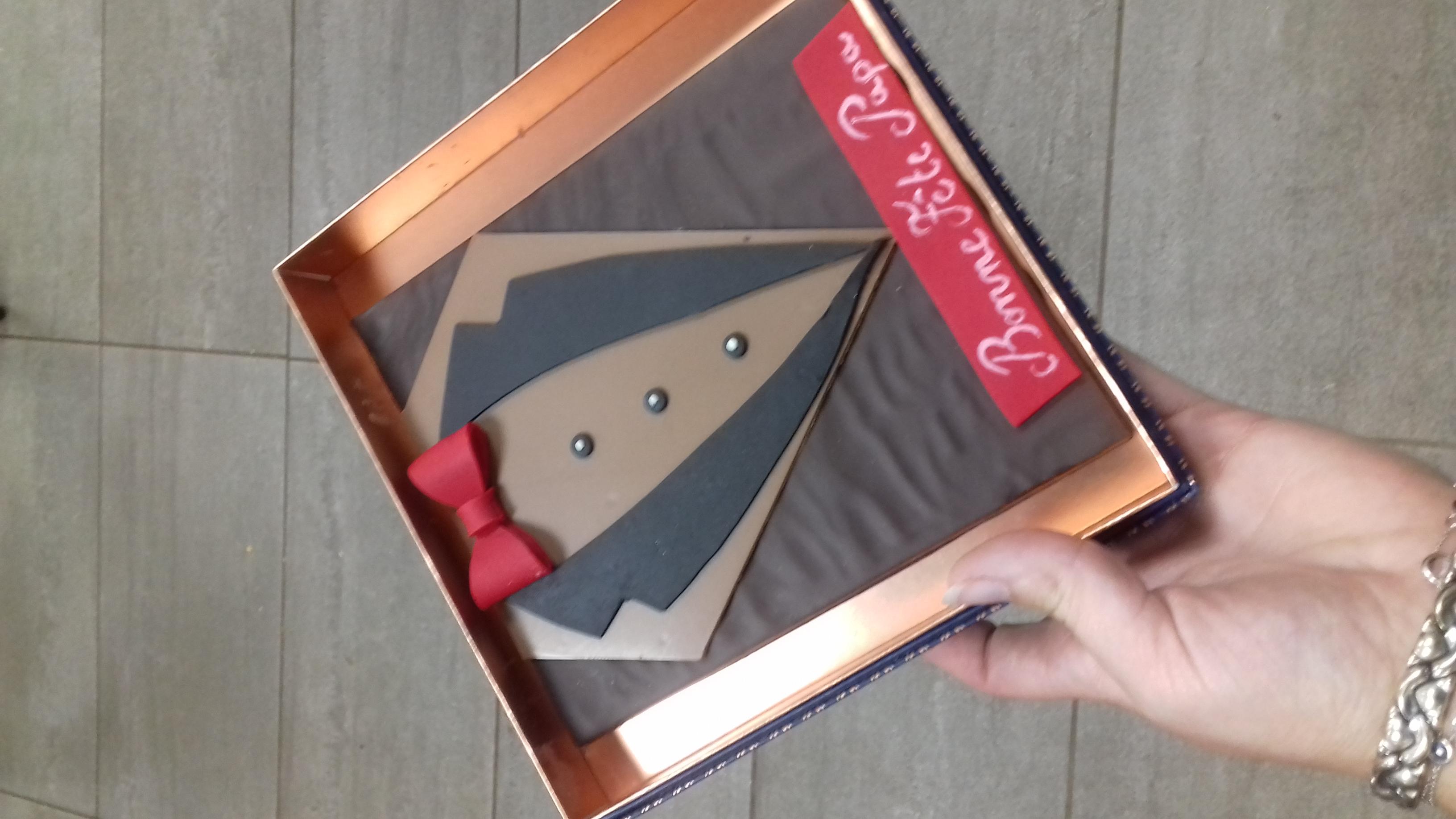Boite de chocolats fete des peres