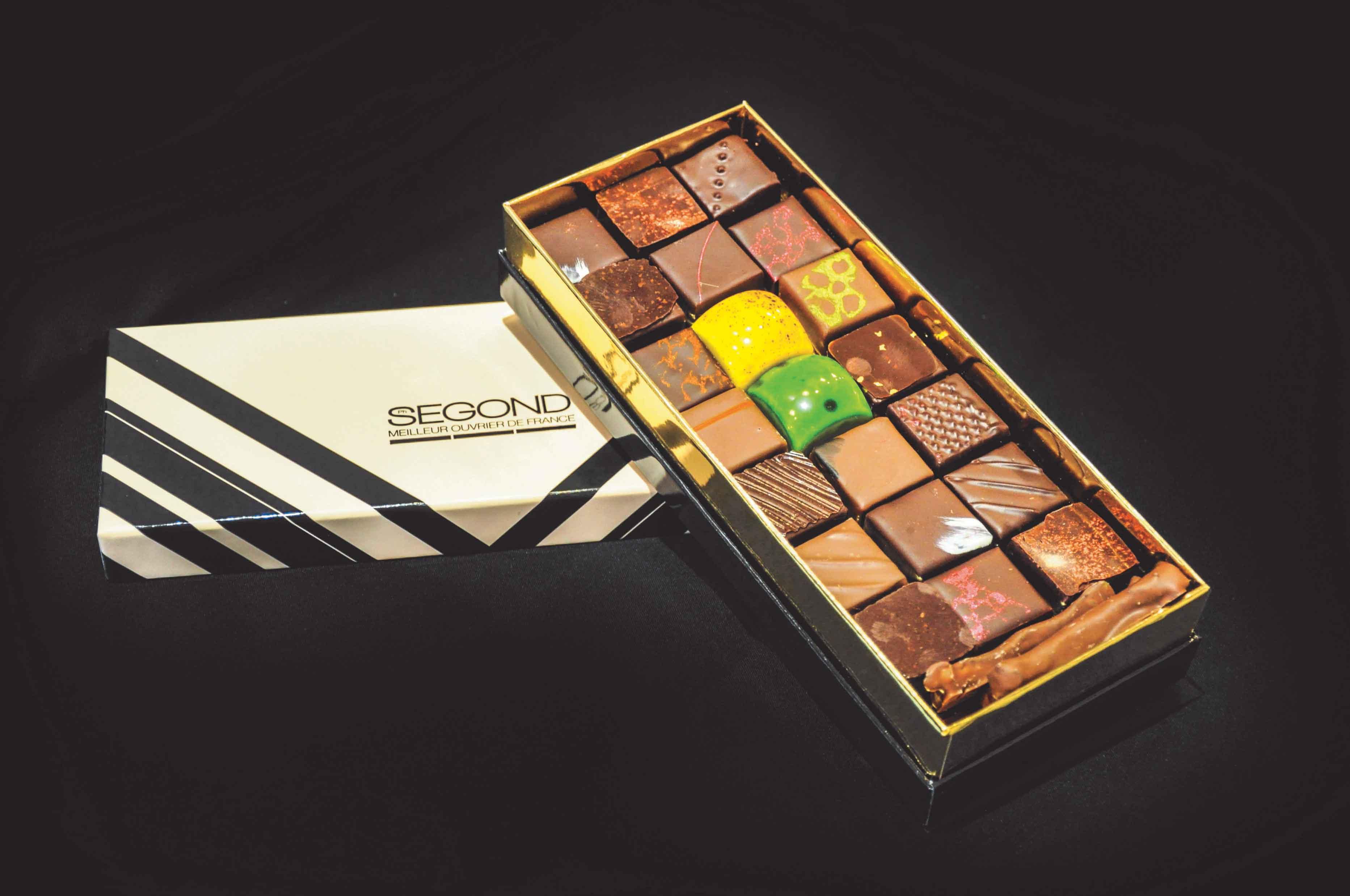 boite de chocolats pour entreprises