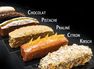 Gamme de gâteaux de voyage