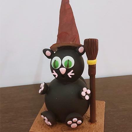 chat ensorcelé 3 chocolats