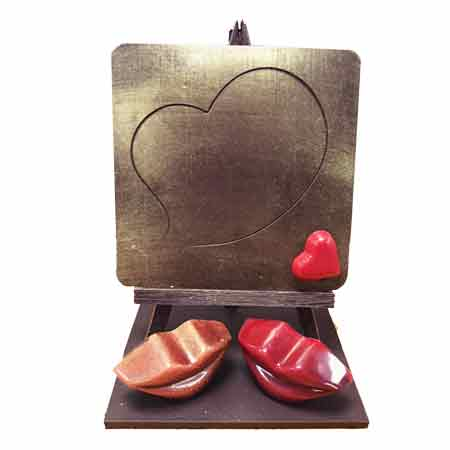 chocolat à personnaliser saint valentin 2020